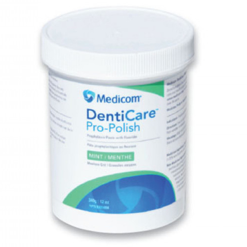 DentiCare Pro-Polish Mint - Medium Grift in Jar (Prophylaxis Paste with Fluoride)