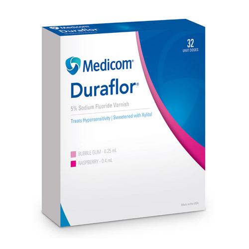 Duraflor Bubble Gum in Unit Dose (5 Percent Sodium Fluoride Varnish)
