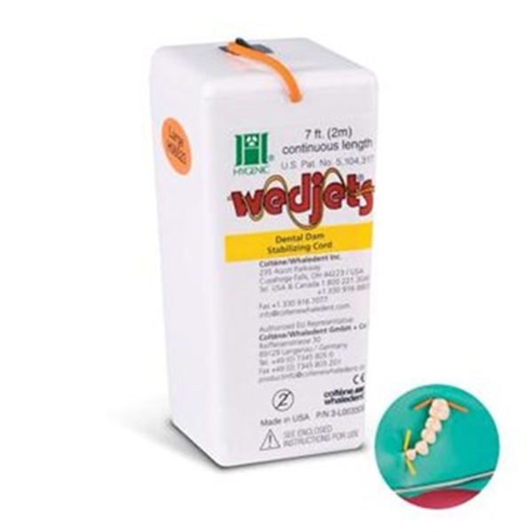 Hygenic Wedjets Stabilizing Cord (Dental Dam Stabilizing Cord)