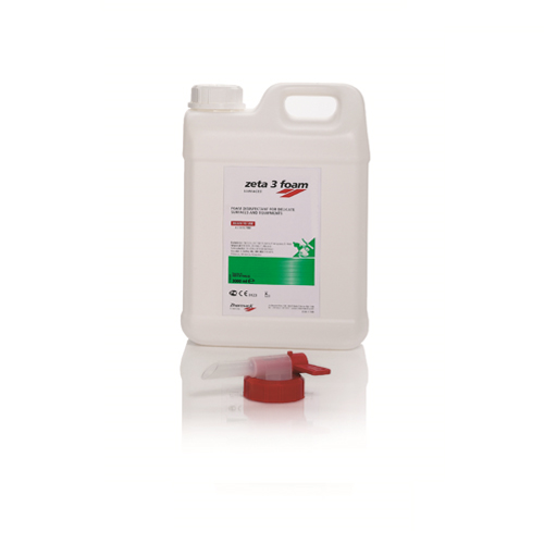 Zeta 3 Foam (Disinfectant and Cleaner for Surfaces of Medical Devices)