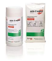 Zeta 3 Wipes TOTAL Surfaces in Dispenser (Disinfection and Cleaning of Medical Devices)