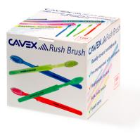 Cavex Rush Brush (Disposable Tooth Brushes Impregnated with Tooth Paste)