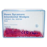 Hawe Sycamore Interdental Wedges (Red), Shape 60