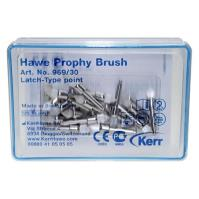 Hawe Prophy Brushes (Latch Type,  Brushed Point)