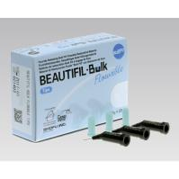 BEAUTIFIL Bulk Flowable (Tips, Dentin Shade), Light Cured Composite Resin