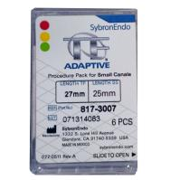 SybronEndo TF Adaptive Assorted Files 27mm (Small Procedure Pack)