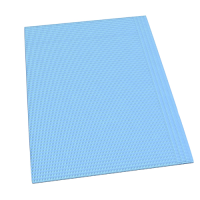 Dental Bib 3ply Without Tie (Blue)