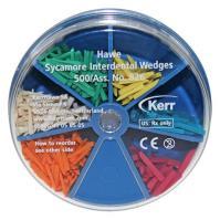 Hawe Sycamore Interdental Wedges (Assorted in Wedge Dispenser)