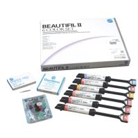 BEAUTIFIL II, Nano Hybrid Composite with Fluoride Release (6 COLOR SET)