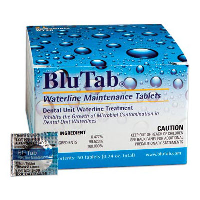 BluTab Waterline Maintenance Tablets (Dental Unit Waterline Treatment Tablets for 2 Liters of Water)