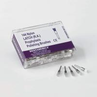 144 Nylon LATCH RA Prophylaxis Polishing Brushes (Disposable Prophy Brushes)
