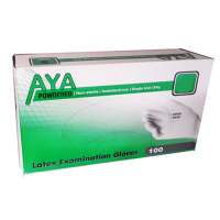 AYA Latex Examination Gloves Powdered (X Large)