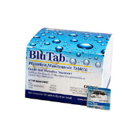 BluTab Waterline Maintenance Tablets (Dental Unit Waterline Treatment Tablets for 700 to750ml of Water)
