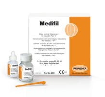 Medifil Kit (Glass Ionomer Cement for Filling of Classes I, III and IV)