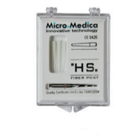 H S Fiber Post 0.9mm (Glass Fiber Post and Drill)