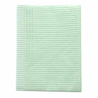Dental Bib 3ply Without Tie (Green)