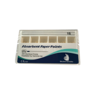 ISO Size 0.02 Absorbent Paper Points (Size 15)